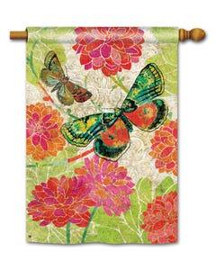 CLR Boutique Butterflies Standard Flag