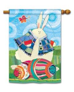 CLR Funny Bunny Standard Flag