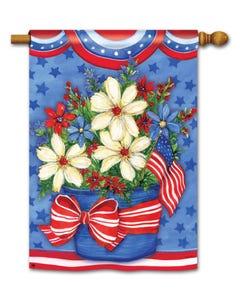CLR American Beauty Standard Flag