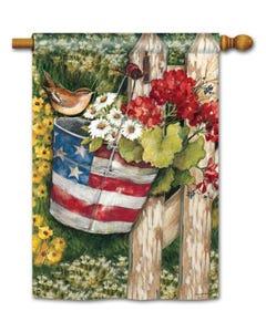 CLR Patriotic Pail Standard Flag
