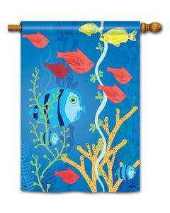 CLR Underwater World Standard Flag