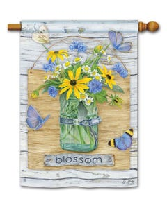 Blossom Jar Standard Flag