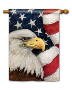 American Eagle Standard Flag