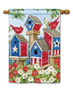 All American Birdhouses Standard Flag