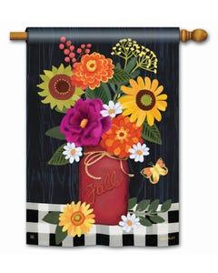 Autumn Blooms Standard Flag