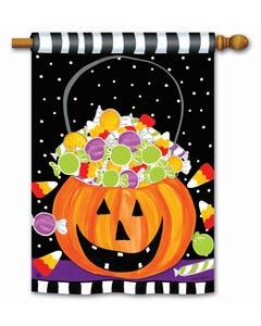 Halloween Candy Standard Flag