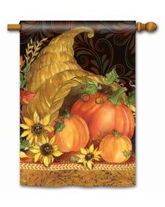 Autumn Bounty Standard Flag