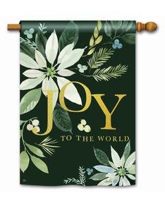 Poinsettia Joy Standard Flag