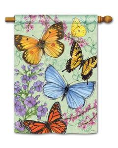 Butterfly Dance Standard Flag