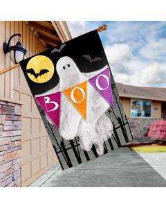 Halloween Ghost Standard Flag