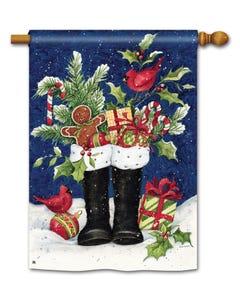 CLR Santa's Boots Standard Flag
