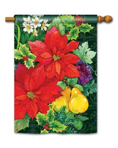 CLR Poinsettia Fruit Standard Flag