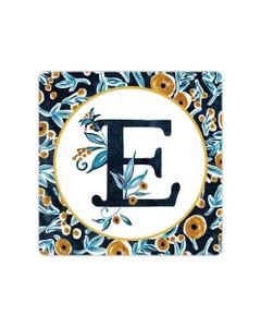 POD Indigo Elegance Mono E Art Coaster