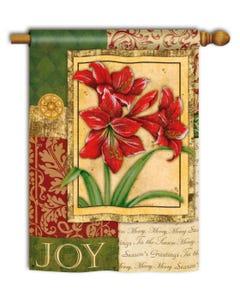 CLR Amaryllis Tapestry Standard Flag