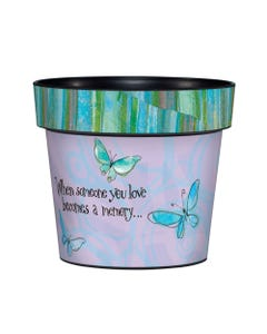 "Butterfly Memories 6"" Art Pot"