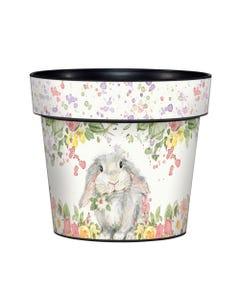 "Hello Bunny 6"" Art Pot"