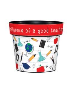 """A Good Teacher 6"""" Art Pot"""