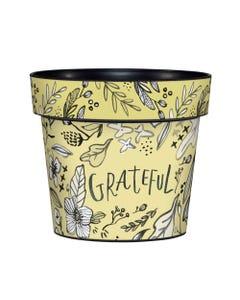 "Grateful 6"" Art Pot"