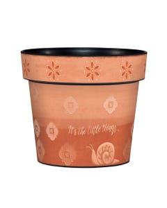 "Terra Flora 6"" Art Pot"
