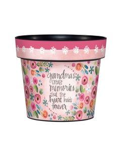 """Grandma Memories 6"""" Art Pot"""