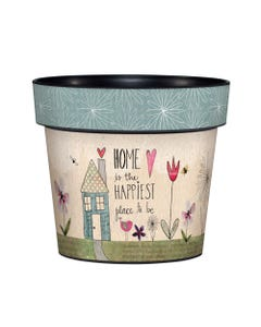 "My Happy Place 6"" Art Pot"