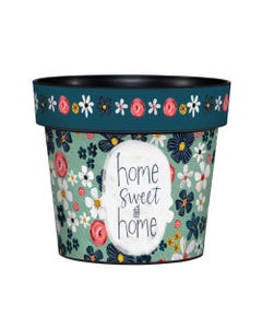 "My Sweet Home 6"" Art Pot"