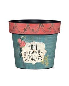 "Mom and Me 6"" Art Pot"