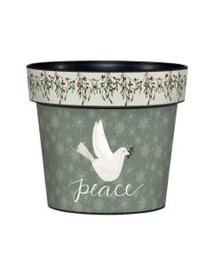 "Season of Peace 6"" Art Pot"