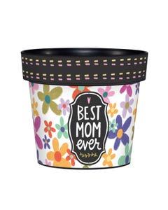 "My Mom's the Best 6"" Art Pot"