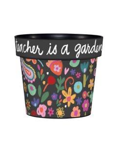 "Teacher Gardener 6"" Art Pot"