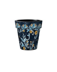 """Floral Elegance 12"""" Art Planter"""