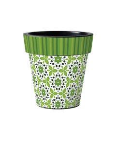 "Green Petal 15"" Art Planter"