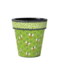 "Bees Delight 15"" Art Planter"
