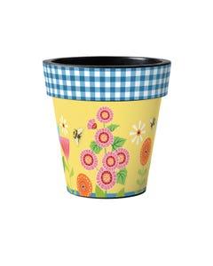 """Garden Bees 15"""" Art Planter"""