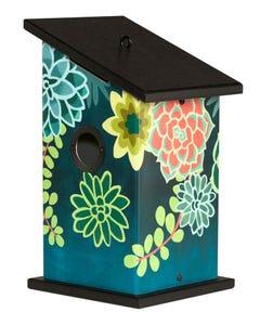 Boho Succulents Birdhouse