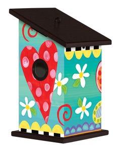 Folk Garden Birdhouse