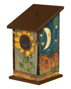 Peaceful Earth Birdhouse