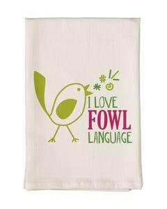 Fowl Language Towel