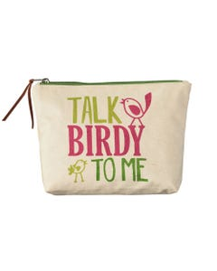 Talk Birdy to Me Pouch