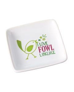 Fowl Language Trinket Dish