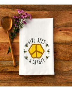 Give Bees a Chance Towel