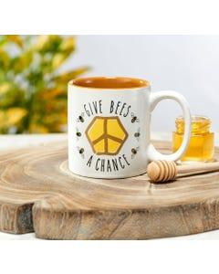 Give Bees a Chance Coffee Mug
