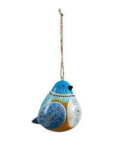 Bluebird Bird Song Ornaments