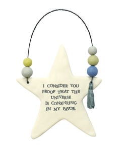 The Universe Hanging Star