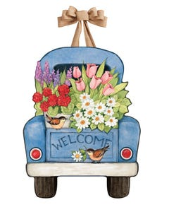 Flower Pickin' Time Door Décor