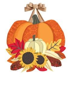 Joys of Fall Door Décor
