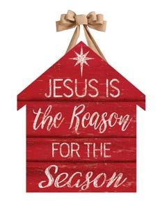 Jesus is the Reason Door Décor