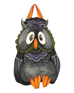 Moonlight Owl Door Décor