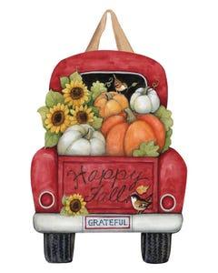 Pumpkin Delivery Door Décor