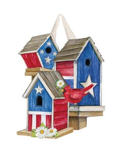 All American Birdhouses Door Décor